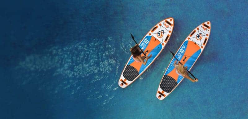 Paddle board Gonflable Skiffo avis et test
