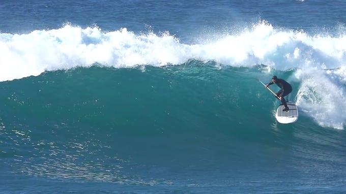 Triipstix : un SUP gonflable qui fonctionne dans les vagues !