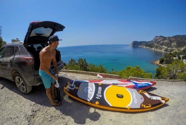 Kayak ou Paddle? Avantages et inconvénients 1