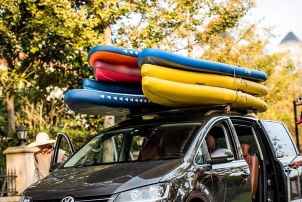 6 conseils pour voyager avec votre matériel de Stand Up Paddle 3