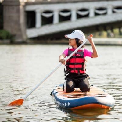 Comment faire du paddle avec des enfants? 5