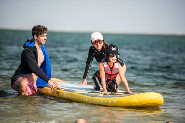 Comment faire du paddle avec des enfants? 1