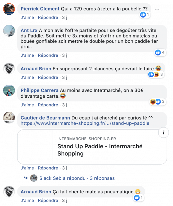 "Promo intermarché : attention au paddle gonflable ""low cost"" 2"